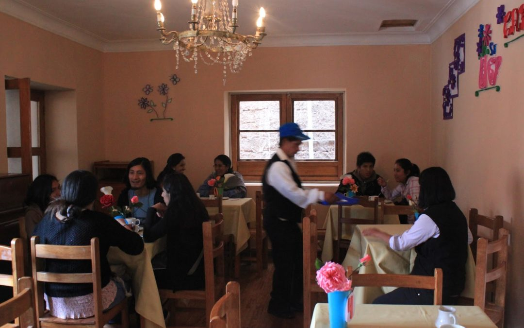First Student Run Cafe Opens in Cusco