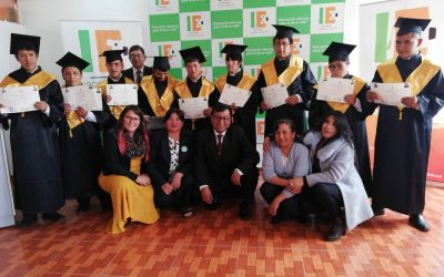 First Graduation of Manos Unidas Youth